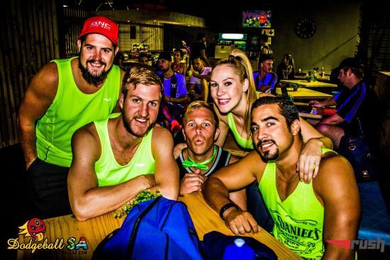 Claremont, Republika Południowej Afryki: RUSH Dodgeball