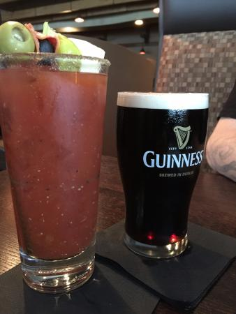 Ciatti's: Bloody Mary and Guinness