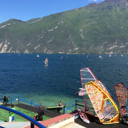 Hotel Pier : Lake Garda Windsurfing