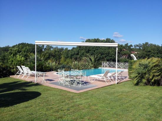 Chambres Du0027Hotes La Tarentane: Garten Mit Pool   Auch Ein Schöner Platz Zum