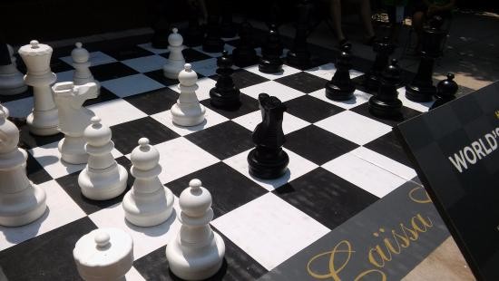 World Chess Hall Of Fame Large Scale Outdoor Set