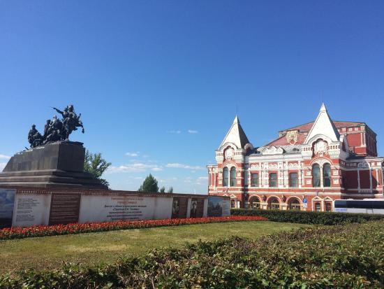Chapaev monument