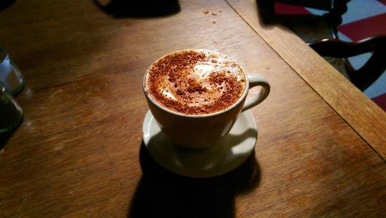 Macy's Fresh Roasted Coffee : My cinnamon latte!