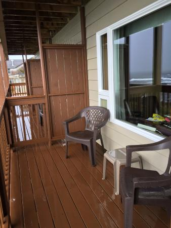 Clarion Inn Surfrider Resort: room 75 balcony