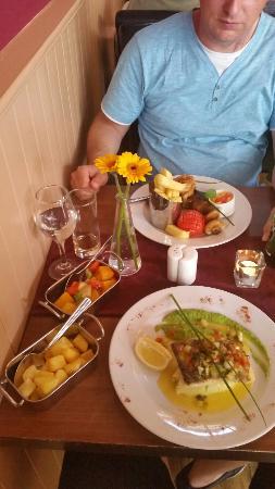 All Seasons Restaurant: ...super lecker! Gut, das wir der Empfehlung gefolgt sind.