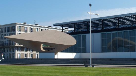 Musée des Beaux-Arts André Malraux : muzeum -widok zewnętrzny