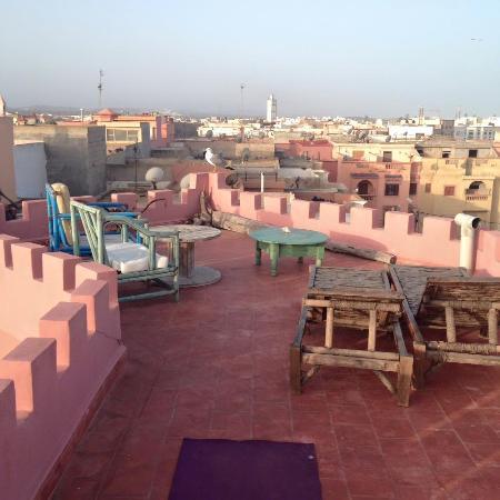 Casa Guapa de Tamuziga: Terrasse de la Casa Guapa