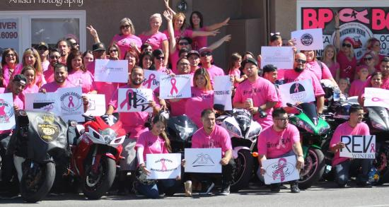 Baldwin Park Pizza Company: Business People 4 Breast Cancer Team
