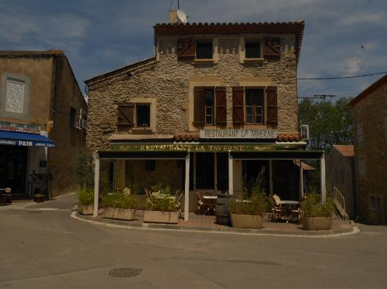 la Taverne : facade av