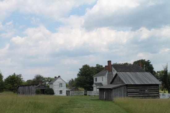 Virginia Museum of the Civil War: Bushong farm at New Market battlefield