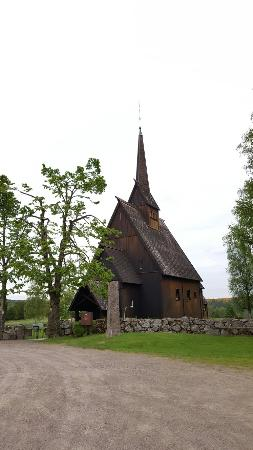 Andebu Municipality, Noruega: Høyjord Stavkirke