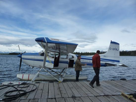 Nimpo Lake, Kanada: before the flight to Turner Lake
