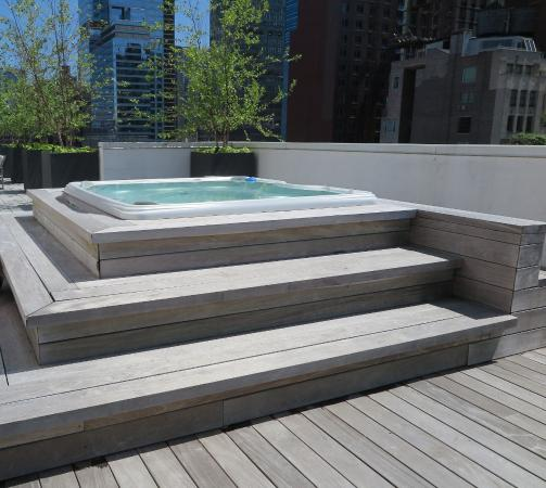 Hot Tub On Roof Picture Of Cassa Hotel Times Square New York City