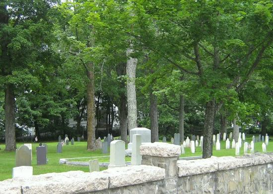 South St. cemetery in Gorham