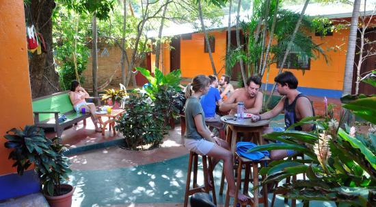 Hostel Esperanza: breakfast time