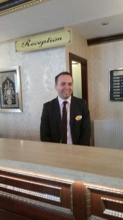 Albatros Premier Hotel: MR Vadat Konuk. Who saved our trip.