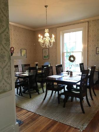 Rocky Mount, Virginie : The breakfast room