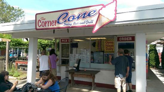 The Corner Cone Dairy Bar & Grill & Bike Rental
