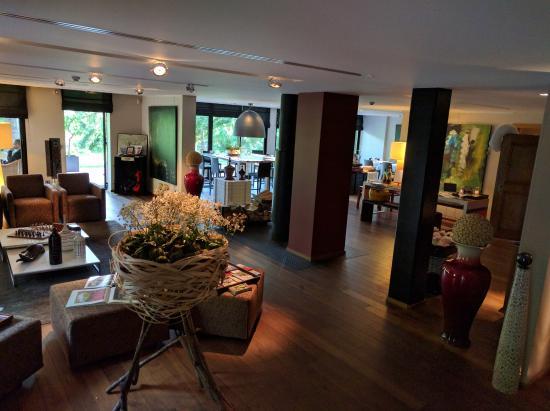 Hotel K : Eingangsbereich und Lounge