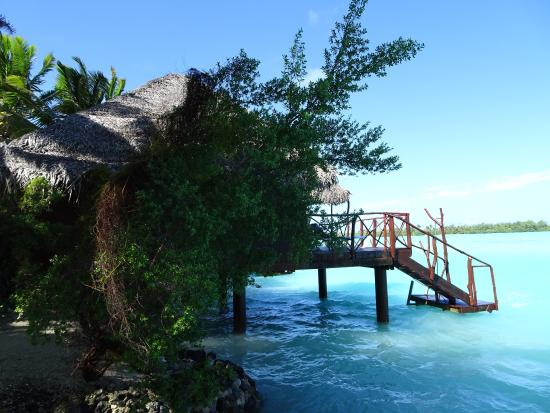 Aitutaki Lagoon Resort & Spa: Overwater Bungalow