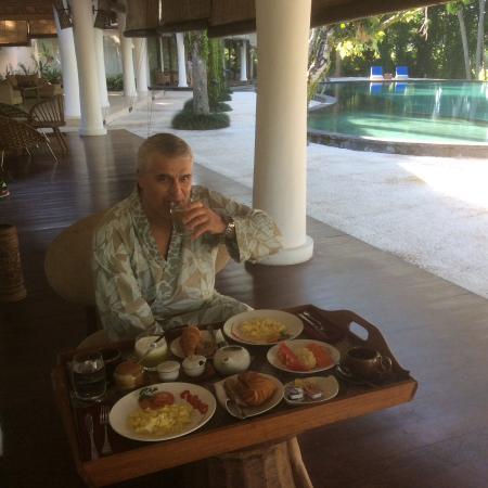 Pandawas Villas: A breakfast