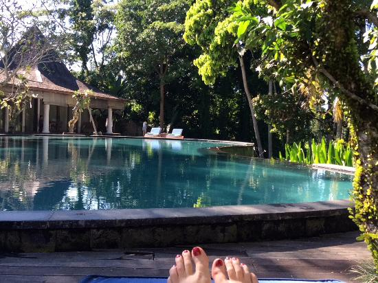 Pandawas Villas: Infinity pool