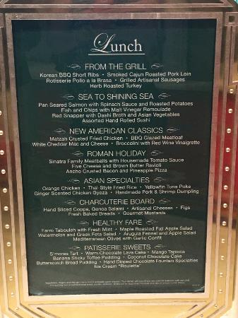 Admirable Lunch Menu Picture Of The Buffet At Wynn Las Vegas Download Free Architecture Designs Xerocsunscenecom