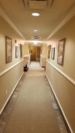 Park Place Inn: hallway
