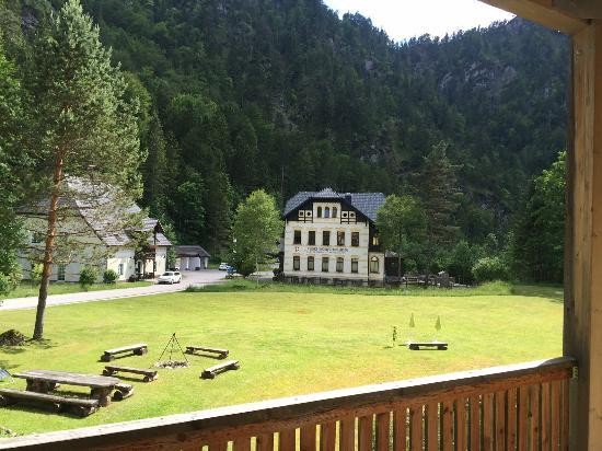 Wildalpen, Austria: Balkon