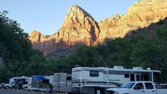 Zion Canyon Campground: 20160612_200911_large.jpg