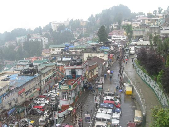 view of darjeeling from the lounge picture of dekeling hotel