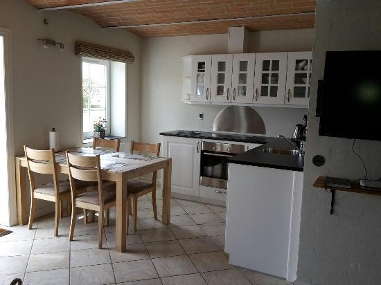 B&B Mandø: Zona cucina