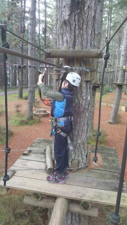 Woodhill, นิวซีแลนด์: Following instructions from the staff