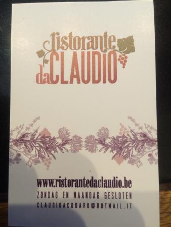 Ristorante Da Claudio
