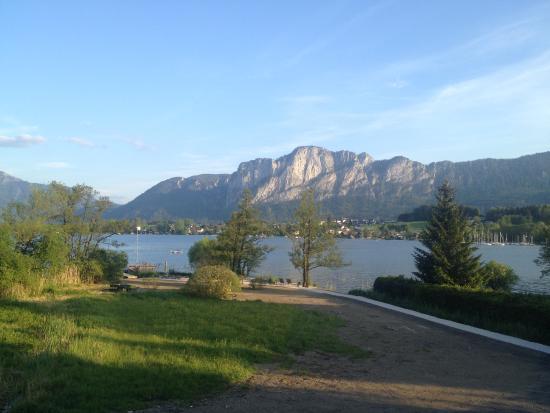 Seehotel & Restaurant Lackner: schöne Aussicht aus dem Zimmer