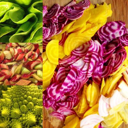 Organico Cafe: Wonderful veggies