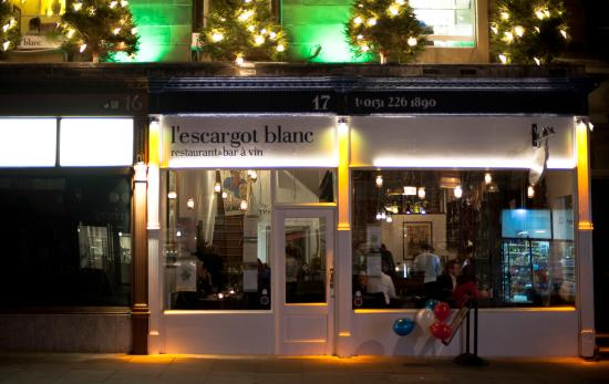 ‪L'Escargot Blanc Restaurant & Wine Bar‬