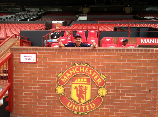 Home Bench Picture Of Old Trafford Stretford Tripadvisor
