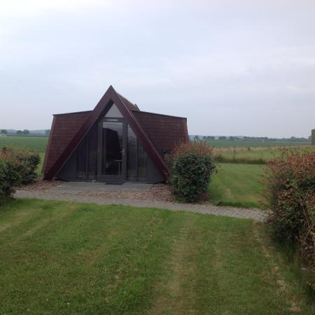 Andijk, The Netherlands: A-shaped private cabin