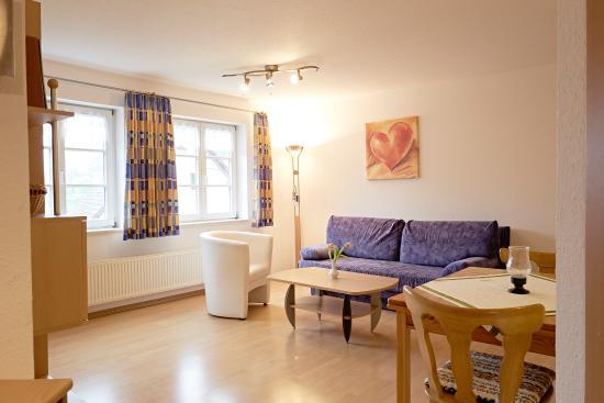 Stuehlingen, Alemanha: Apartment 1 - Wohnzimmer