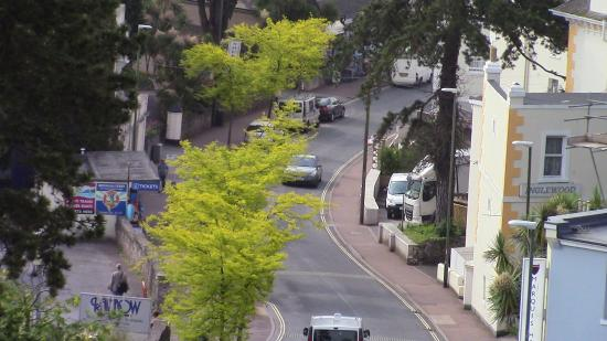 TLH Derwent Hotel: Another view from the room, quite close, the bus stops are even closer!
