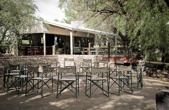 Hopetown, Sudáfrica: Boma Area