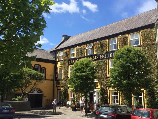 The Listowel Arms hotel in the centre of Listowel town