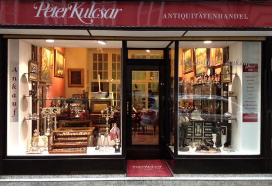 Peter Kulcsar Antiquitatenhandel Wien
