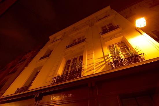 Vieux Marais: Facade hotel