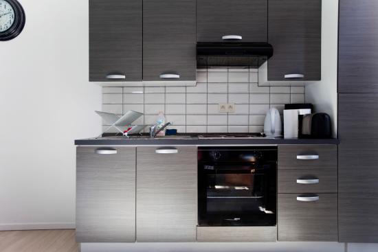 City Center Apartments: Cuisine Fourche
