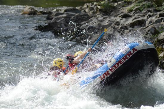 Bidarray, France: Rafting sportif