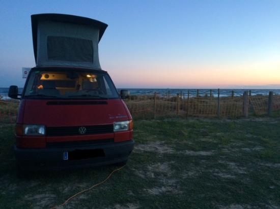 Camping Las Salinas