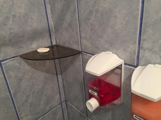 La Posada del Viajero Hostal: Jabón que me dejó de regalo el huésped anterior de la habitación 209 (sarcasmo ON)
