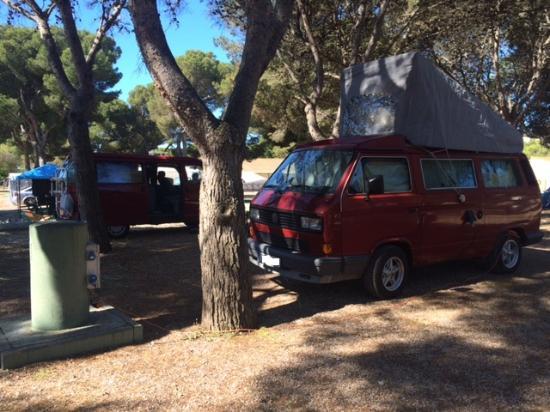 Camping El Garrofer: Parcelas